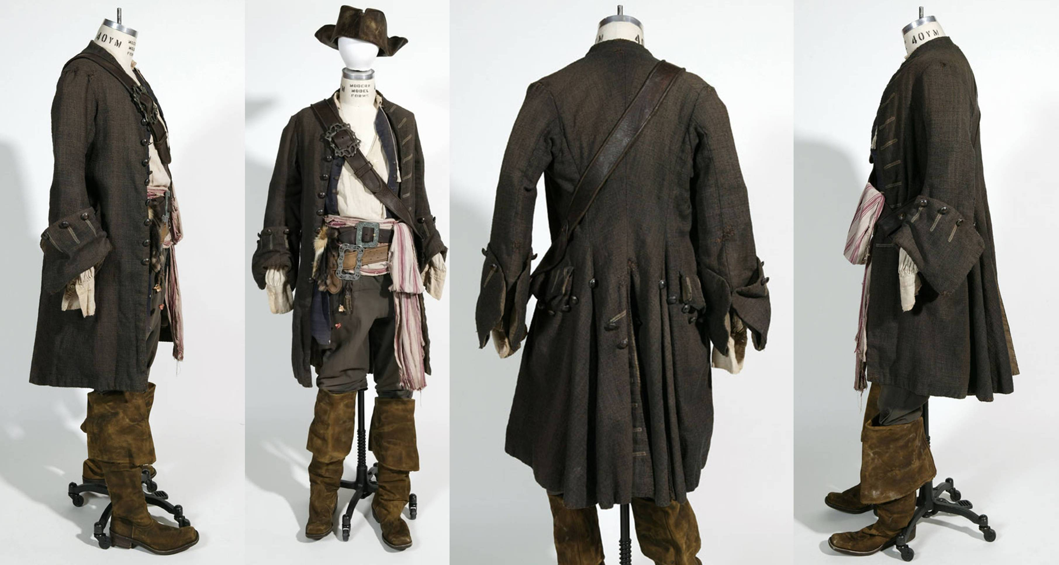Pirate Jack sparrow waistcoat stage costume lw4OA45