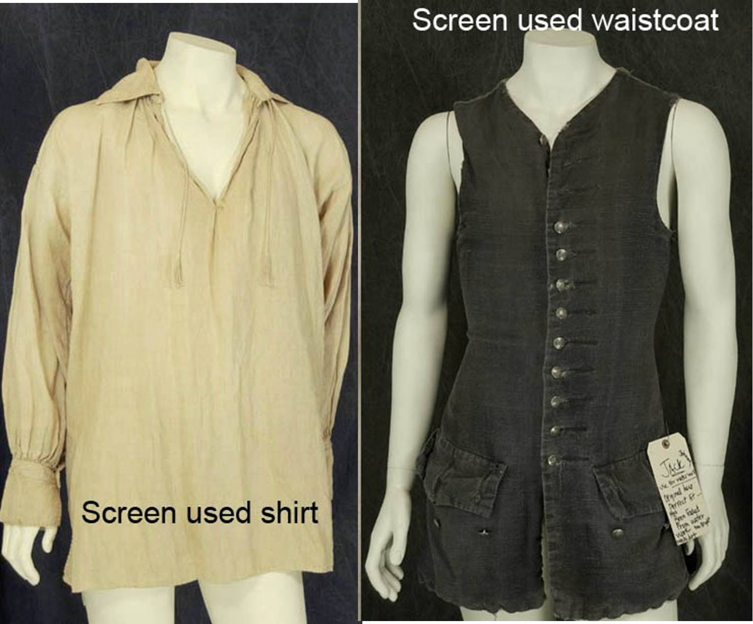 Early 18th Century long pirate waistcoat