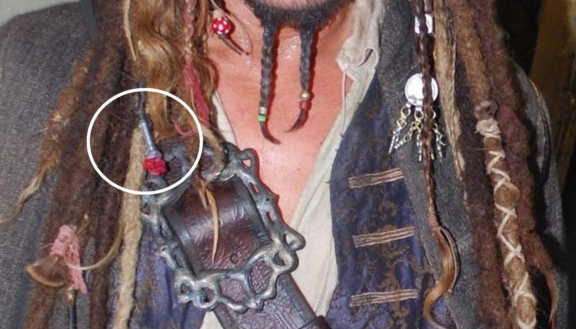 Jack Sparrow Banajara Dangle