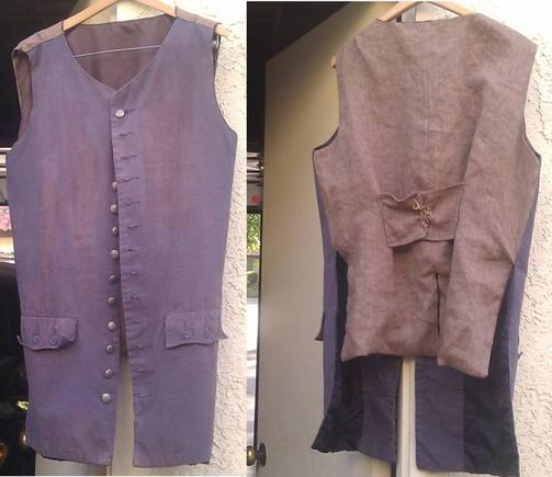 Jack Sparrow Waistcoat Fabric OST DMTNT UP TO 15 DAYS DISPATCH NOT 3 DAYS